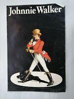 """😍AFFICHE POSTER CINEMA PUBLICITE """"JOHNNIE WALKER IMPRIMERIE PARIS 74X50CM😍"""