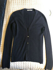 Prada Brown Cashmere Cardigan Sweater in sz 38- Made in Italy