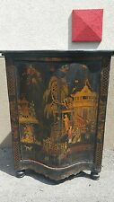Very Early 19Th C English Chinoiserie Corner Cabinet Possibly 18Th C