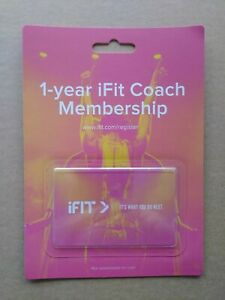 1-year iFit Coach Membership, for NordicTrack and ProForm (family)