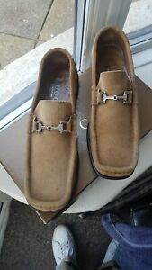 Gucci Tan Loafers Size 9