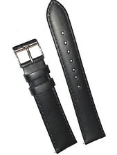 EURO GENUINE LEATHER 18MM REGULAR CLASSIC WATCH BAND QUICK RELEASE