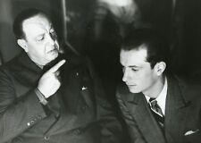 HARRY BAUR ET SON FILS CECIL LES CINQ GENTLEMEN MAUDITS DUVIVIER PHOTO CINEMA CM
