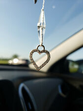CRYSTALS Rear View MIRROR HANGING Ornament Accessories Car Pendant Decoration