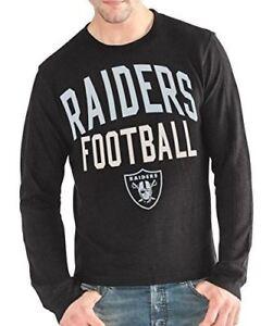 Las Vegas Raiders Men's Ringer Long Sleeve Thermal Shirt