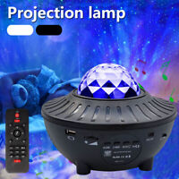 Starry Night Light Galaxy Laser Projector Ocean Star Sky Party Lamp Christmas