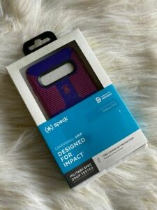Speck Shockproof Impact Candysell Grip Purple Red Case For Samsung Galaxy S10