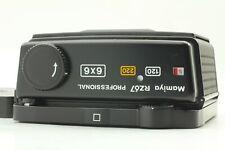 【Rare ! Mint】Mamiya RZ67 Pro 120 220 6x6 Roll Film Back Holder w/ Cap from JAPAN