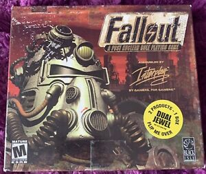 Fallout/Fallout 2 Dual Jewel (PC, 2001) Double Pack — New, Sealed