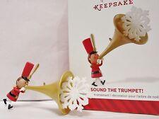 New listing Hallmark 2014 Sound The Trumpet Collectible Ornament New In Box