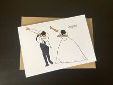 Wedding Congratulations Card Funny Rude Wedding Engagement Card/Engaged/