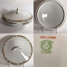 Noritake The Luzon Covered Serving Dish Nippon Japan