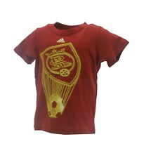 Real Salt Lake Official MLS Adidas Apparel Infant Toddler Size T-Shirt New Tags