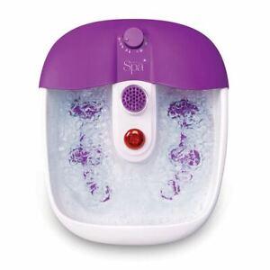 Sensio Home Foot Spa Therapeutic Relax Bubble Foot Spa Bath - Pedicure Set