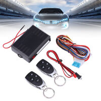 Car Keyless Entry System Remote Central Kit Switch Ignition Preheating Device