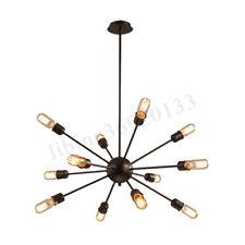 Sputnik 12 Lampen Industrie Kronleuchter Pendelleuchte Hängelampe