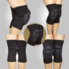 Paire Genouillère Genou Bandage Protection Mousse Travail Danse Foam Support Pad