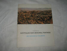 A Selection of Australian War Memorial Paintings with Artists Stories Booklet