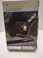 Vintage Norfolk Southern The Railroader's Lifestyle Training Program VHS & Book