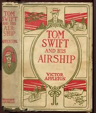 Tom Swift and His Airship, by Appleton, quad DJ