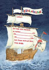 Piraten Party Einladungen Kinderparty Kindergeburtstag