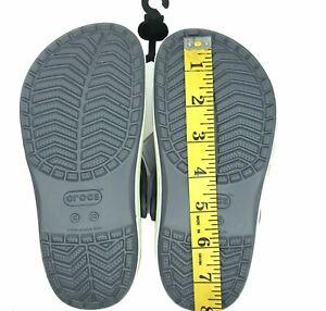Crocs Bayaband Toddler Unisex Clog water friendly stylish & comfy shoes Size 13