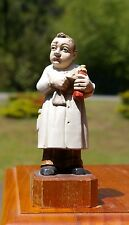 Pharmacist Farmacista Apotheker 1958 by Anri Inc Mass Toriart Wood Base Figure