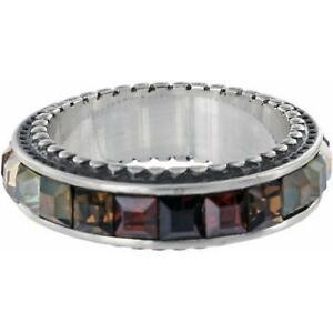 Brighton SPECTRUM  ring  size   9 NWT     TOPAZ/BROWN/MULTI