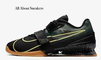 "Nike Romaleos 4 ""Black/Gum Medium Brown/"" Men's Trainers Limited Stock All Sizes"