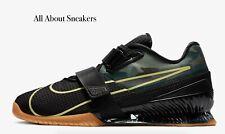 "Nike Romaleos 4 ""Black/Gum Medium Brown/"" Men's Trainers Limited Stock All Sizes"