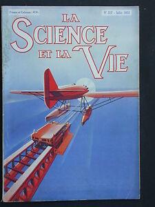 La Science & la Vie 1936 n°217 - économie rationalisée hélicoptère stabilisé