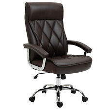 High Back Executive Office Chair Computer Task Seat Withpadded Armrest