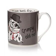 Casey Rodgers vieux grincheux Boxed Mug – Homme Bulldog Bone China Fête des Pères