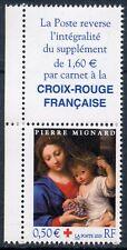 TIMBRE FRANCE NEUF N° 3620 ** + VIGNETTE / CROIX ROUGE / LA VIERGE A LA GRAPPE