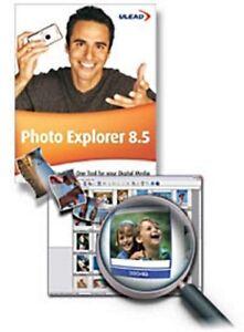 Ulead Photo Explorer 8.5 photo image/WMF clipart viewer / editor/batch converter