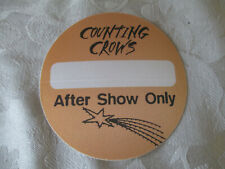 Counting Crows - After Show - Backstage Pass