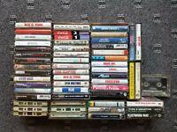 Cassette Tape Lot Rock Metal Classic