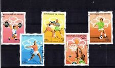 1256++GUINEE SERIE TIMBRES JEUX OLYMPIQUES  ATLANTA 96