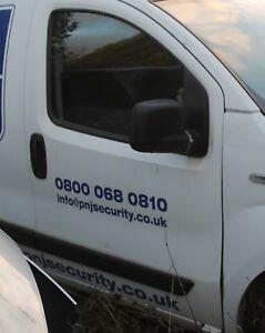 2012 PEUGEOT BIPPER GENUINE O/S DRIVER SIDE DOOR SHELL WHITE