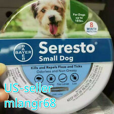 Bayer Seresto Flea and Tick Collar for Small Dog up to 18 lbs 8 Month Protection