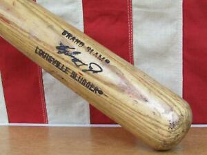 Vintage Louisville Slugger Wood Baseball Bat HOF Ken Griffey Jr. Grand Slam 33""