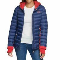 Tommy Hilfiger Damen Jacke, Steppjacke, Quilted Jacket, Große: Large