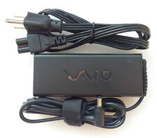 Original OEM AC Adapter Power Cord Charger F Sony Vaio VGN-CR420E/R,VGN-CR420E/W