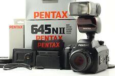 [Near Mint in BOX] Pentax 645 NII A 75mm F2.8 Lens & Meny Bonus N ii From JAPAN