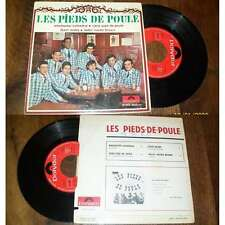 LES PIEDS DE POULE - Djazz' Arabe +3 Rare French EP Jazz Swing 66'