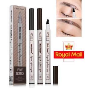 Hot Selling Eyebrow Tattoo Pen Waterproof Fork Tip Patented Microblading Popular