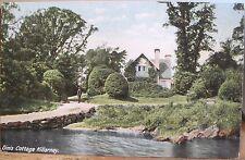 Irish Postcard DINIS COTTAGE Dinas Lakes of KILLARNEY Ireland Lawrence Inland