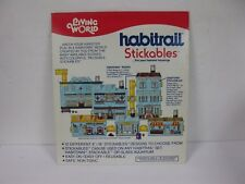 LIVING WORLD HABITRAIL STICKABLES FOR YOUR HAMSTER BROWNSTONE ADDITIONAL FLOORS