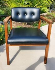 Marden Chicago Danish Modern Upholstered Wood Mid Century Modern MCM 1960s Chair