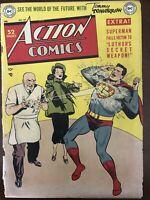 ACTION COMICS #141 LEX LUTHOR's Secret Weapon w/ cover defects Superman Scarce